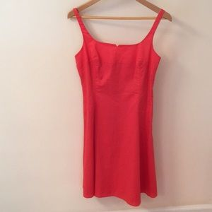 Nine west size for coral dress that